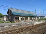 宗谷本線・抜海駅ホーム側