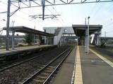 千歳線・サッポロビール庭園駅ホーム