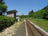 宗谷本線・智東駅 ホーム