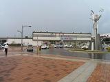 深川駅の駅舎