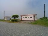 浜厚真駅 駅舎