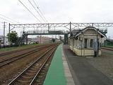 函館本線・近文駅ホーム