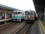 根室本線・釧路駅ホーム
