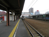 函館本線・野幌駅ホーム