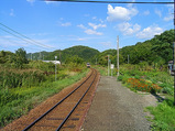 留萌本線・大和田駅ホーム