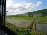 東滝川〜赤平間の車窓風景