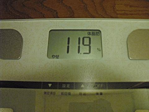 体脂肪率 ちゅちゅポン