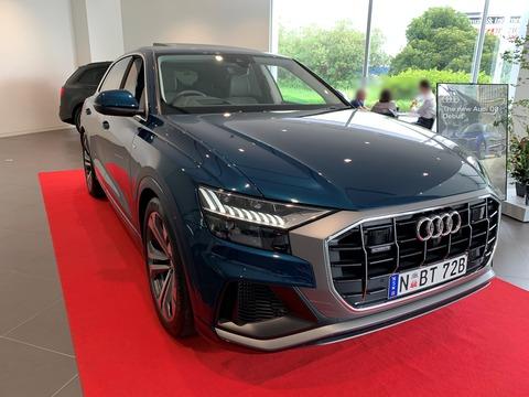 Audi Q8-1 ちゅちゅポン