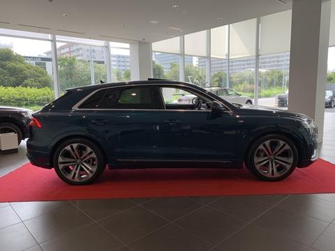 Audi Q8-2 ちゅちゅポン