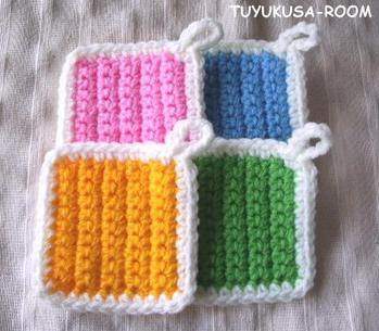 かぎ編みで作るエコたわしが便利&可愛すぎる♡真似したいアイデア集♪