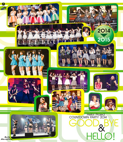 Hello!Project COUNTDOWN PARTY 2014 〜 GOOD BYE & HELLO!〜 [Blu-ray]