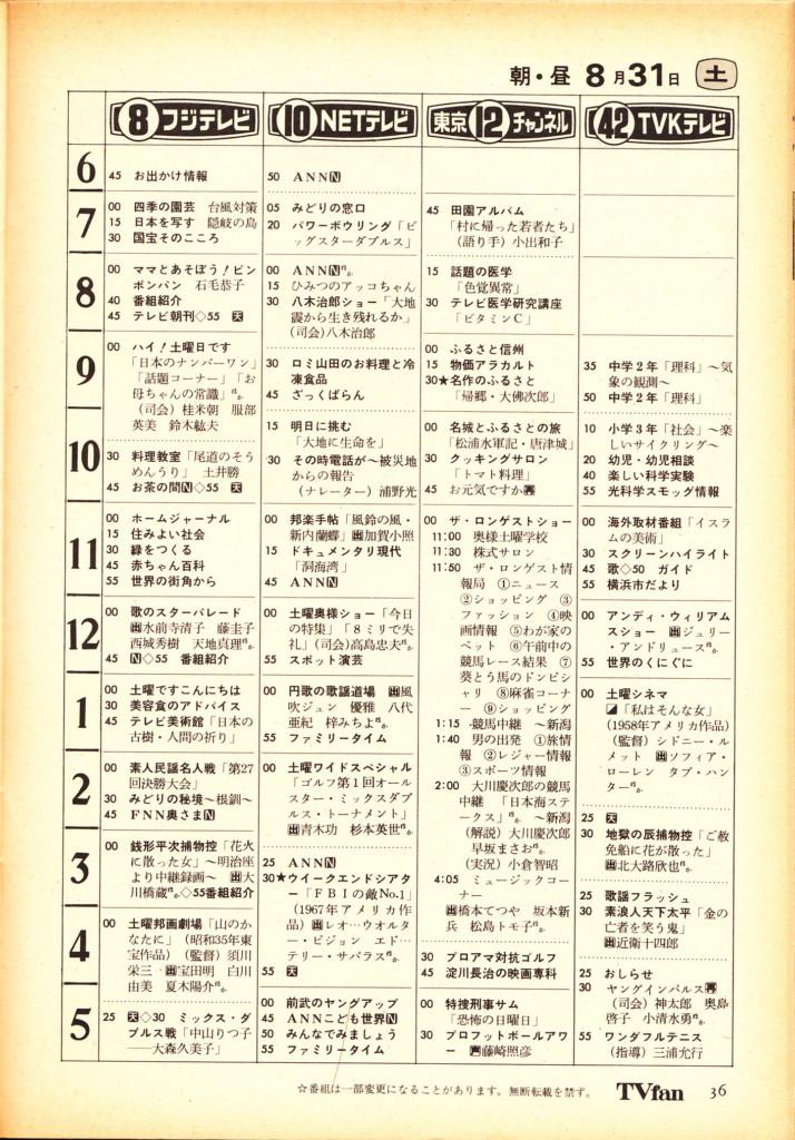 ☆第18弾!創刊休刊栄枯盛衰「テレビ情報誌&ラジオ・FM情報誌年表 ...