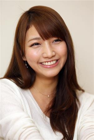 キュートな笑顔の三田友梨佳