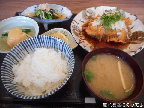 地鶏竜田揚げ葱ポン酢(膳)
