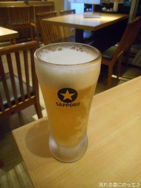 サッポロ黒ラベル樽生ビール中ジョッキ