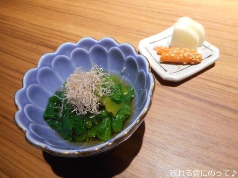 小鉢と香の物