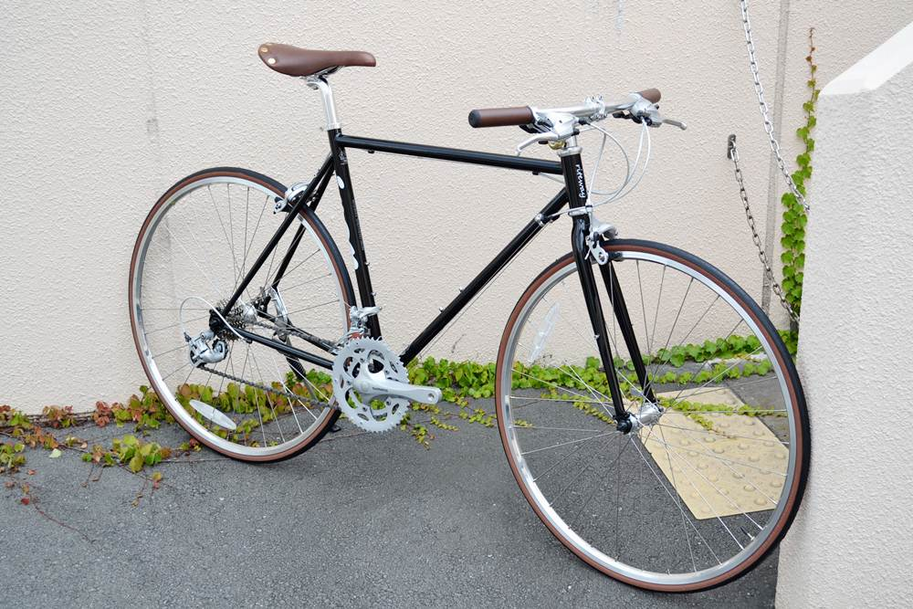 自転車の 自転車 シマノ 変速機 修理 : 色々遊べるフラットバーロード ...