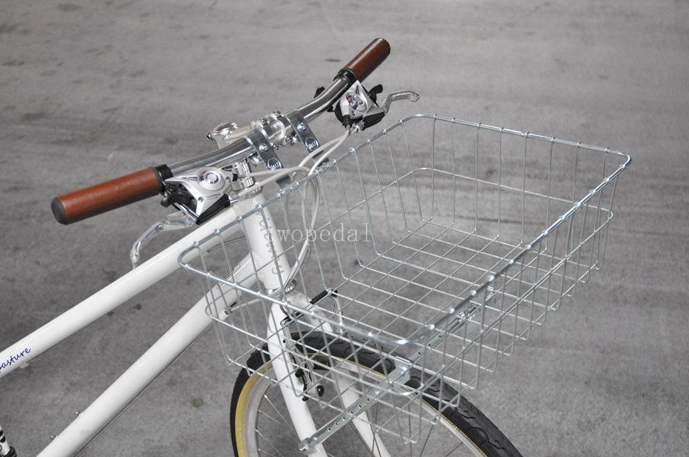 自転車の 自転車 前かご 取り付け方 : 自転車を使う目的には色々 ...