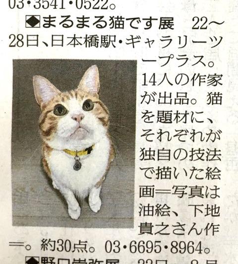 読売新聞16日夕刊シティライフ