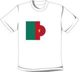 カメルーン 日本 オリジナルTシャツ