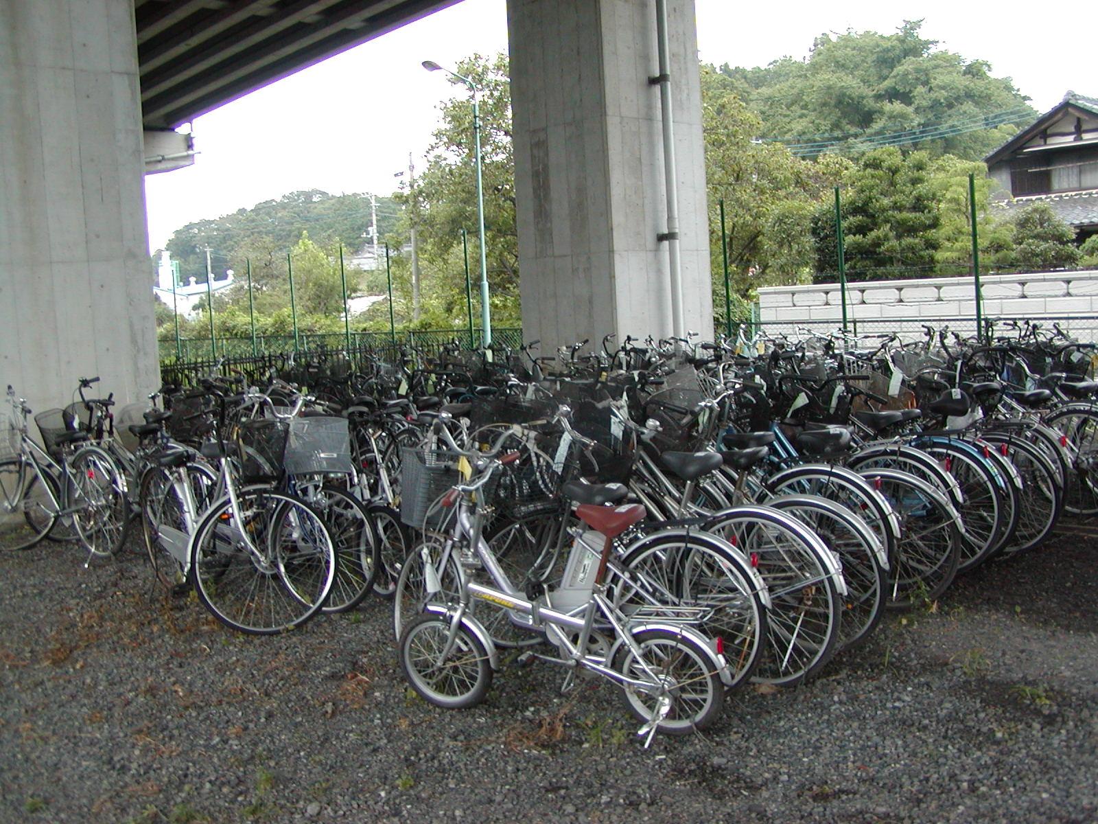 放置自転車集積所