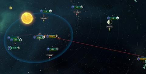 Sol星域防衛戦