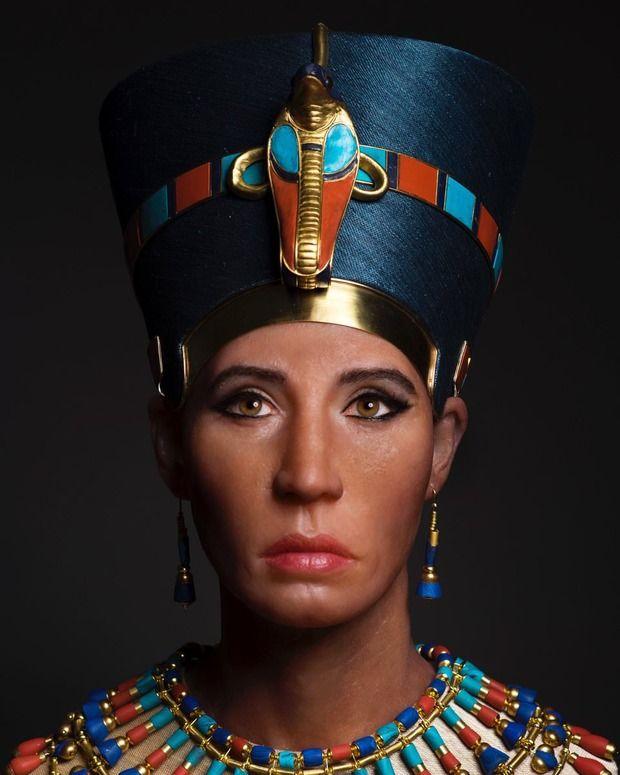 ツタンカーメンの母の顔、完全再現に成功。んー、誰かに似てるんだが名前が出てこない・・・・