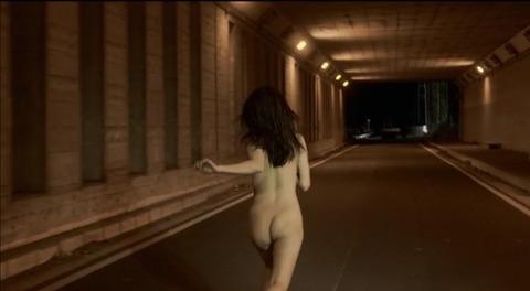 時空のおっさん(全裸の女)
