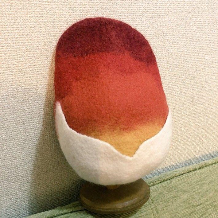 Twitter/@nattuny(タマゴタケのハンチング帽)