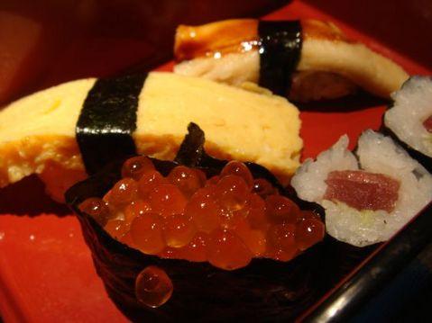 築地の寿司1