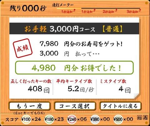<湘北短期大学>「情報リテラシー」の授業で寿司打を発見!<生活プロデュース学科>