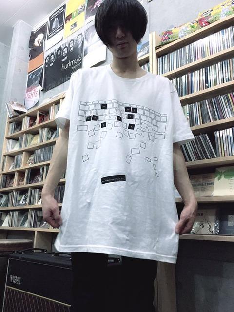 愛知県出身のバンド シックハックのタイピングBigT-shirtがイケている!