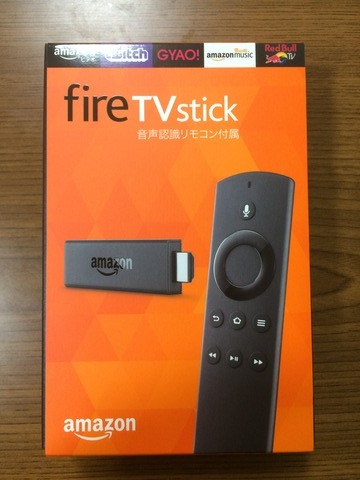Amazon Fire TV Stick買ったよ。買った次の日から20%Offのお買い得セールはじまったよ。