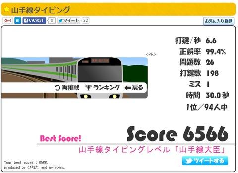 日本電子専門学校の学園祭で恒例の山手線タイピング!Youtube動画あり