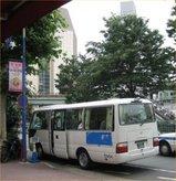 関東病院のバス