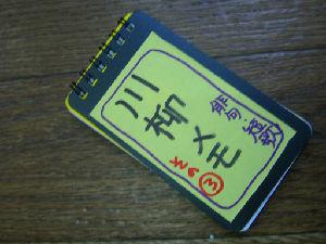 CIMG6886小道具川柳メモ