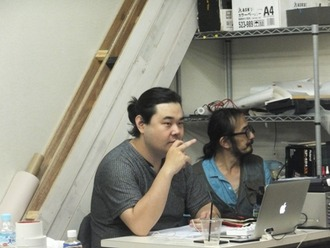 島村さんと前原さん