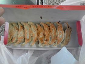 南海高野線で食べた蓬莱の餃子