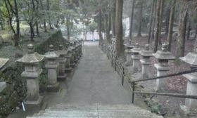 不動堂の階段