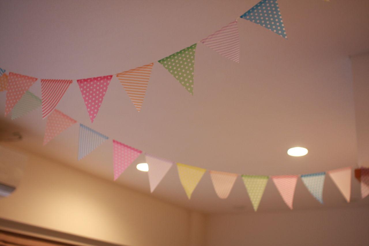 すべての折り紙 誕生日 飾り 折り紙 : 100均の折り紙の活用法がとって ...