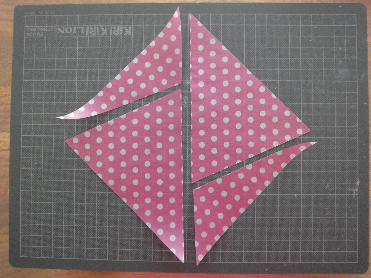 折り紙の いろんな折り紙の作り方 : を、こう切って、1枚の折り紙 ...