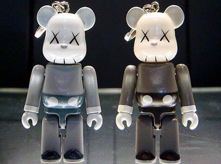 Original Fake 5th Anniversary Bearbrick Companion 70% Toy