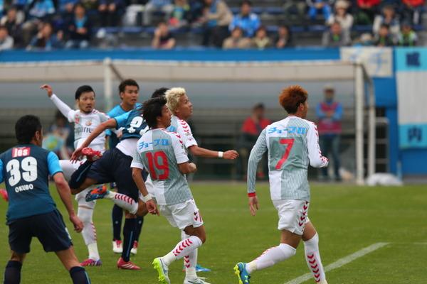 第8節長崎戦 その3 楠元、Jデビューゴール!