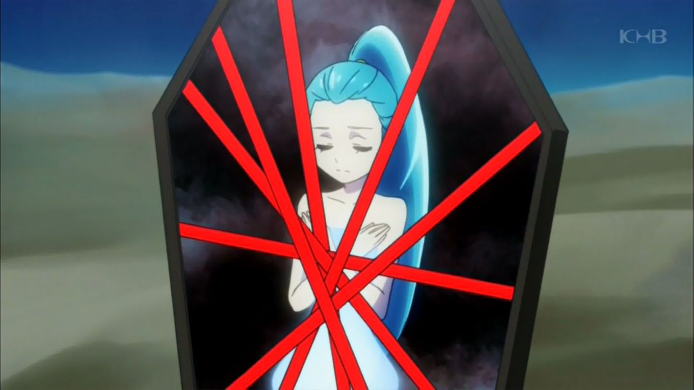 アニメヒロインのピンチに萌える!                  U_X