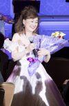 _26A7074 ピンクドレス 花束 ブログ用