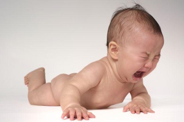 裸でなく赤ちゃん