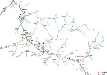 takahara kawa map