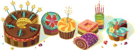 Googleさんより誕生日プレゼント