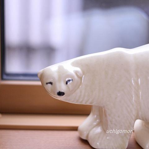 リサの白クマ
