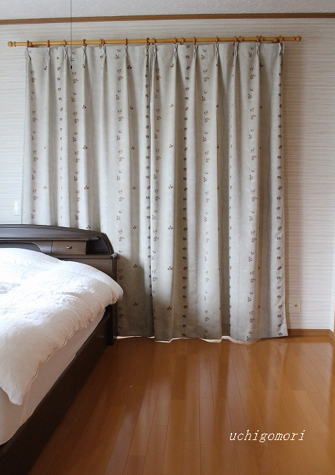 寝室 掃き出し窓
